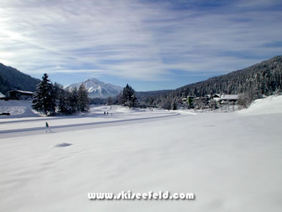 Crosscountry Skiing in Seefeld